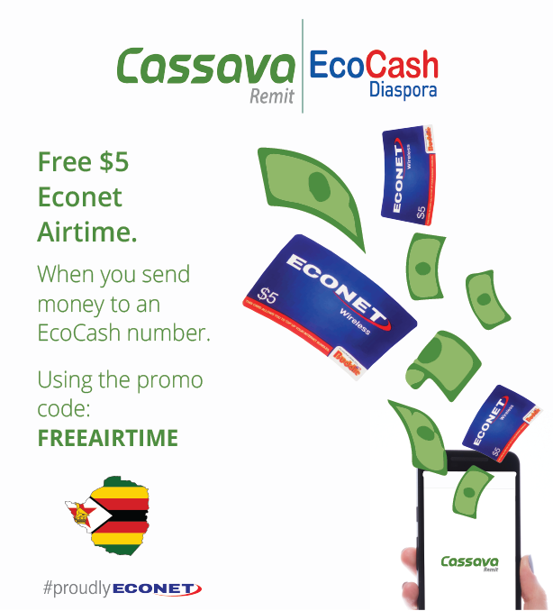 Free Econet Airtime - Cassava Remit
